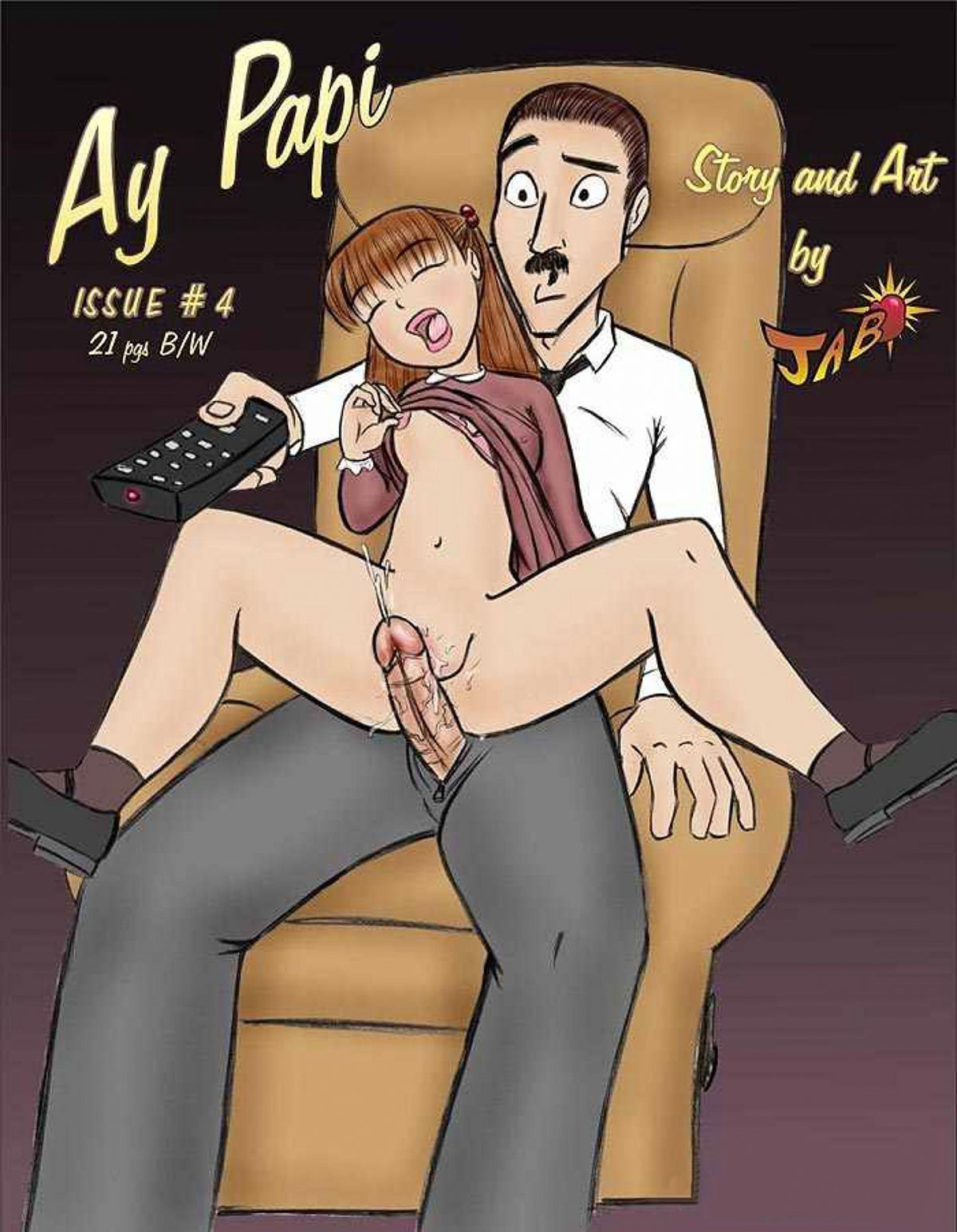 Jab comic Ay Papi 4