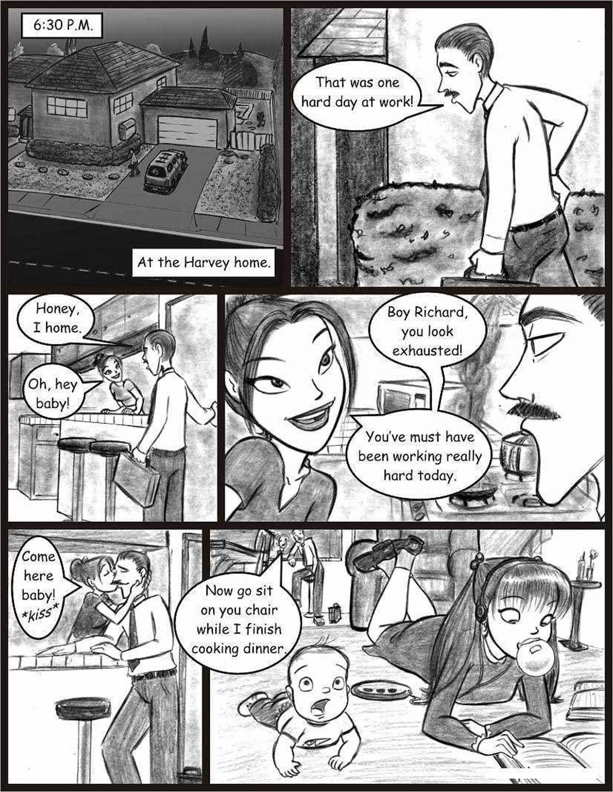 Jab comic Ay Papi 4 - page 1