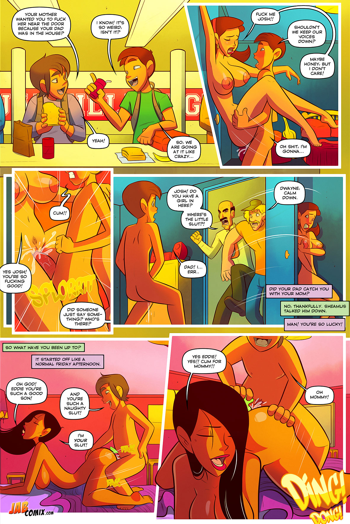Jab comic Keeping it up with the Joneses 3 - page 3