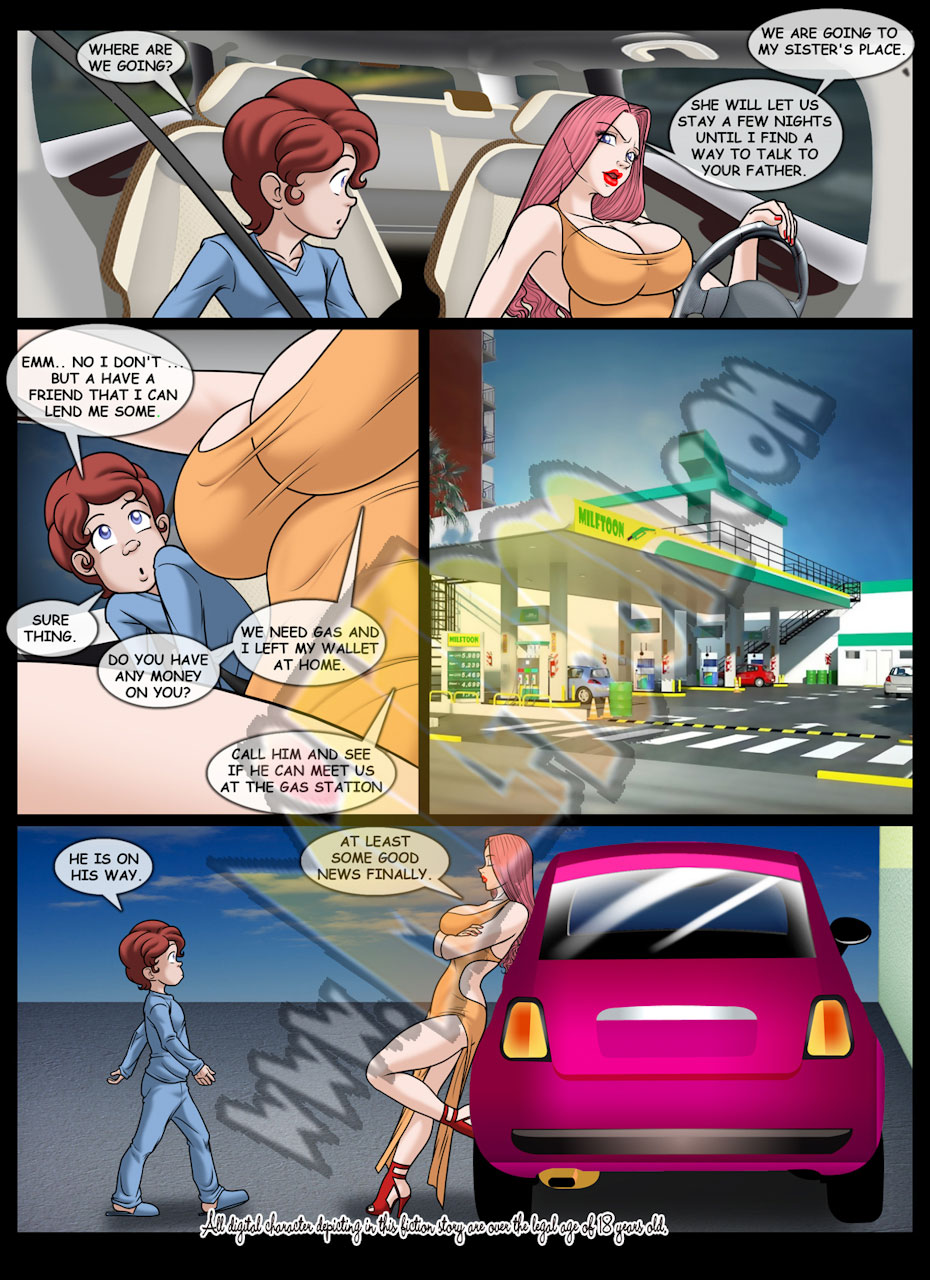 Milftoon comic Lemonade 3 - page 2