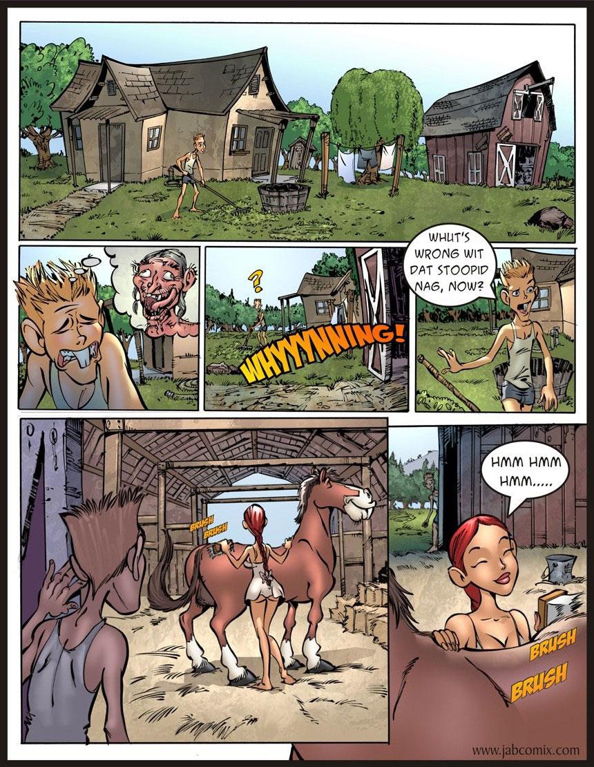 Jab comic Farm Lessons 13 - page 1