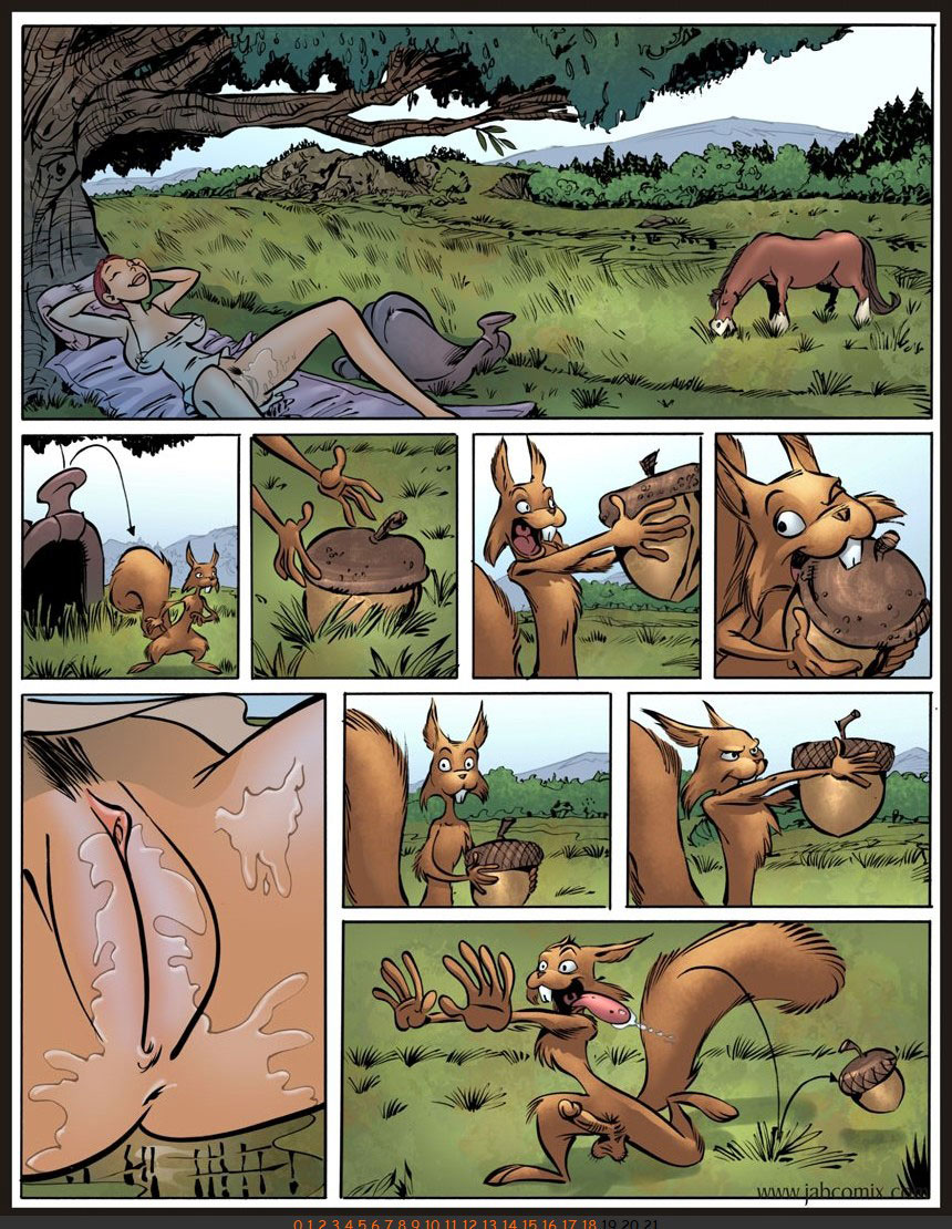 Jab comic Farm Lessons 13 - page 14