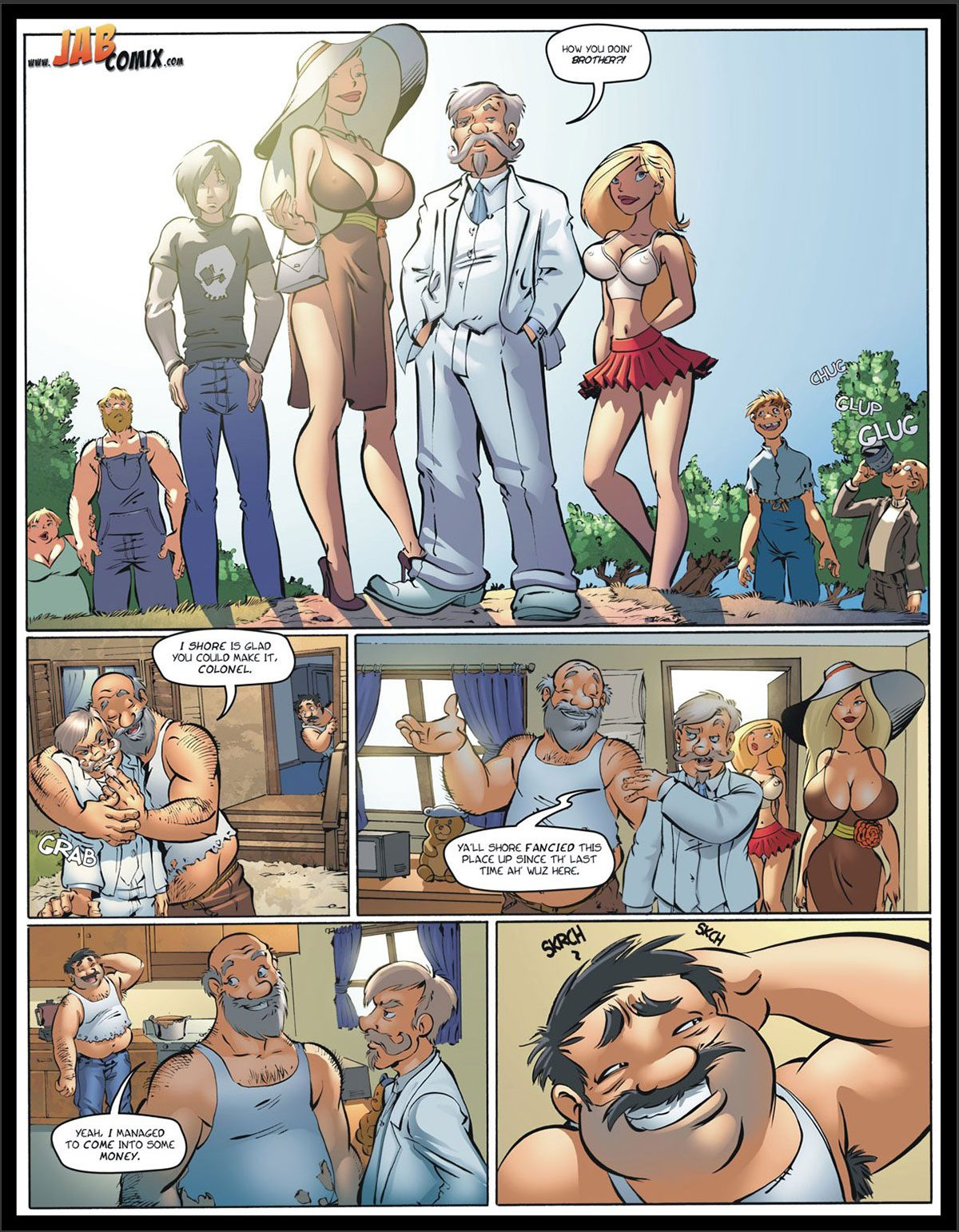 Jab comic Farm Lessons 14 - page 2