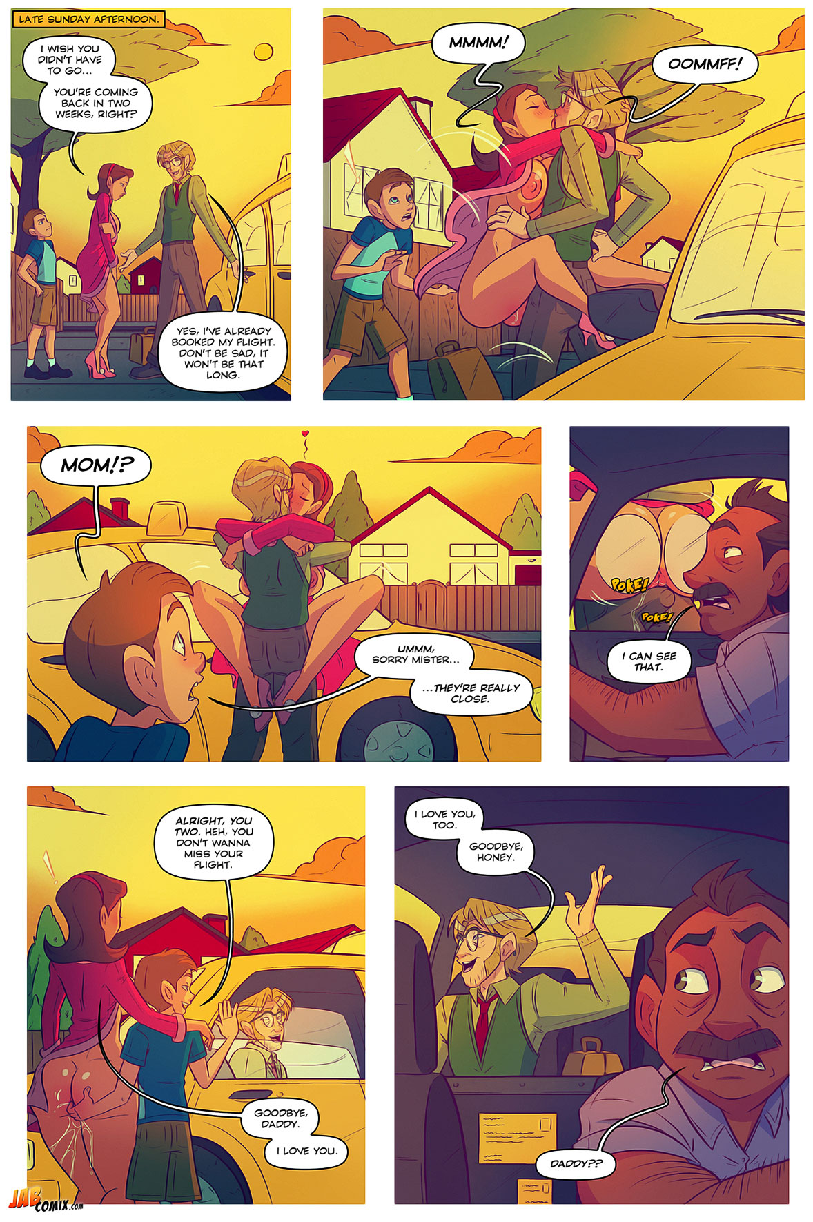 Jab comic Keeping it up with the Joneses 5 - page 10