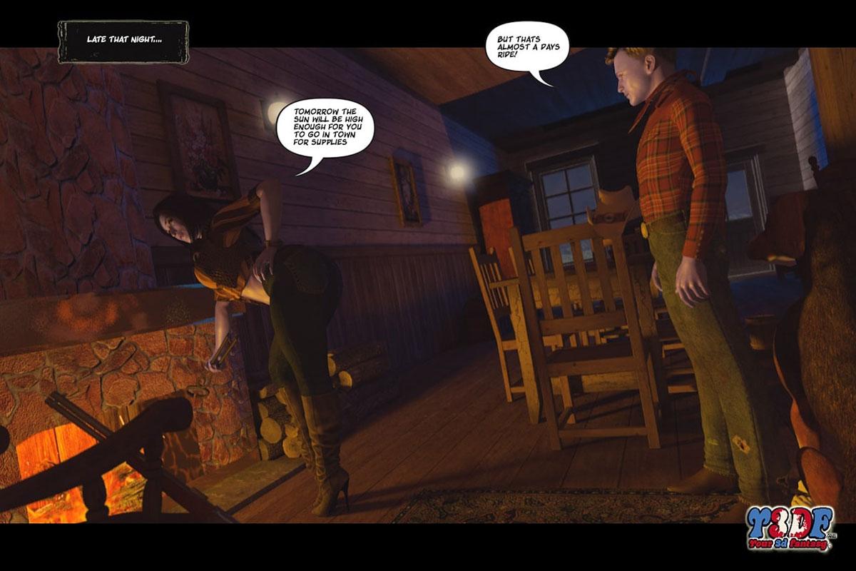 Y3DF comic The big big west - page 11