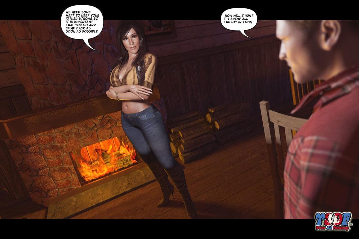 Y3DF comic The big big west - page 12