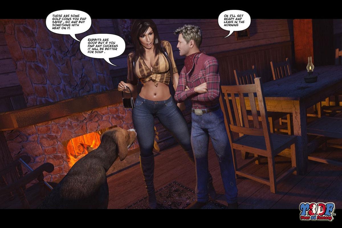 Y3DF comic The big big west - page 14