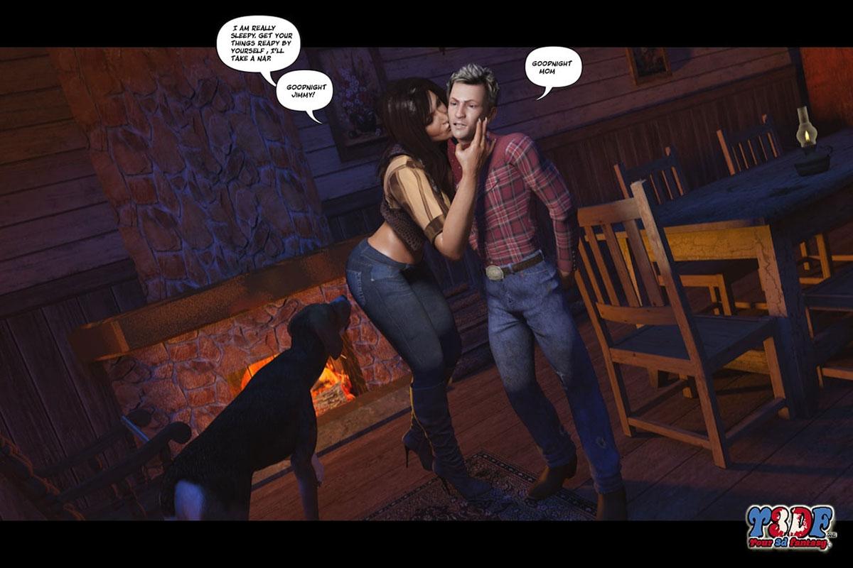 Y3DF comic The big big west - page 15