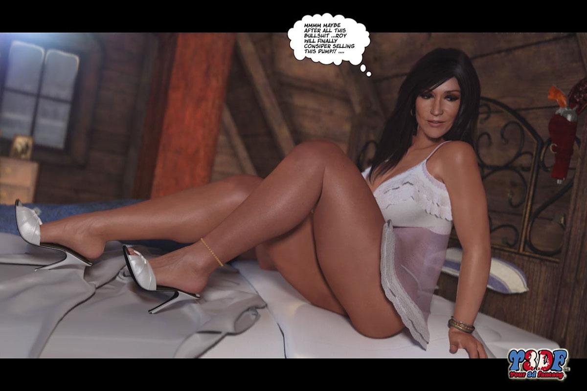 Y3DF comic The big big west - page 20