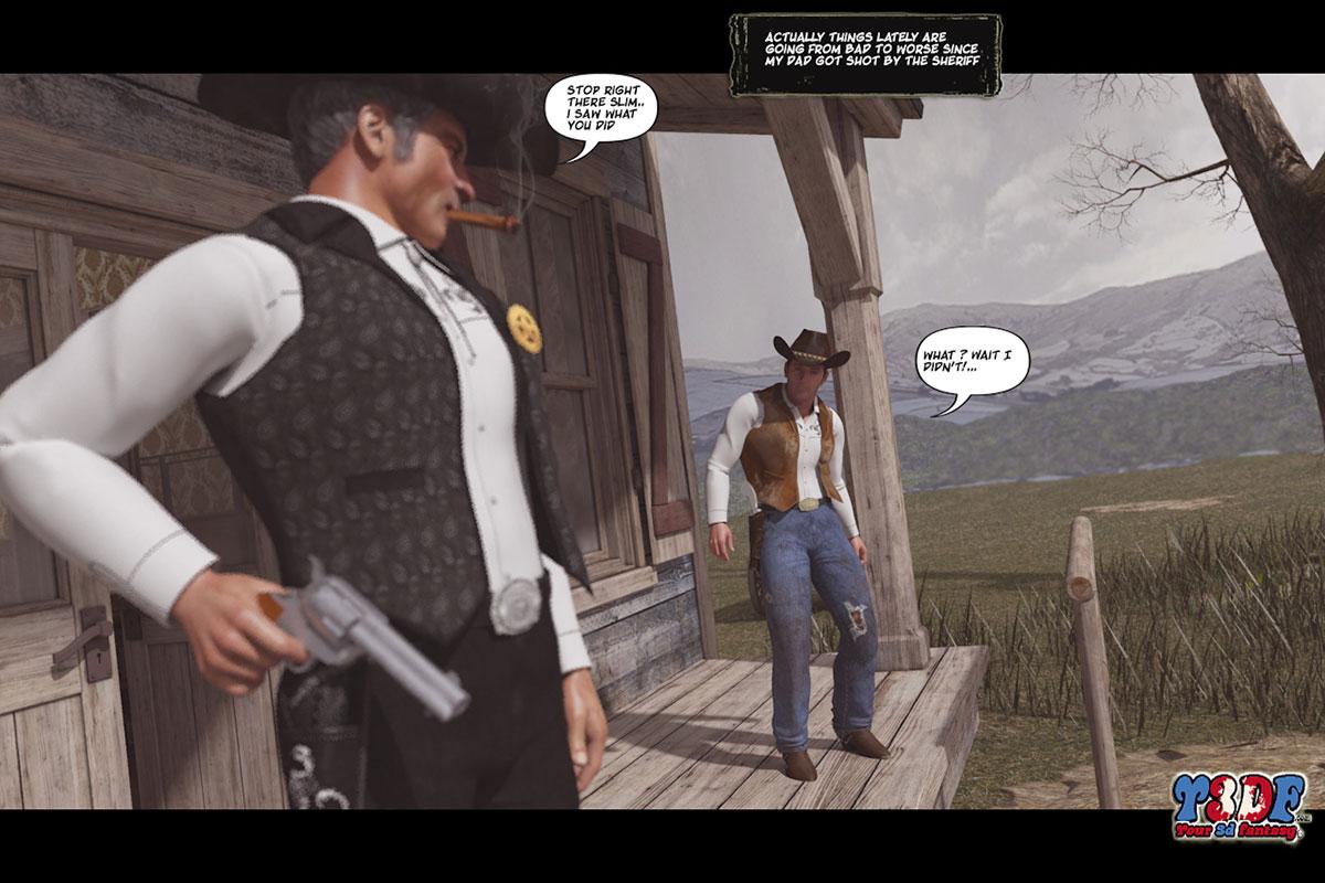 Y3DF comic The big big west - page 3