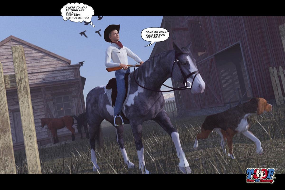 Y3DF comic The big big west - page 30