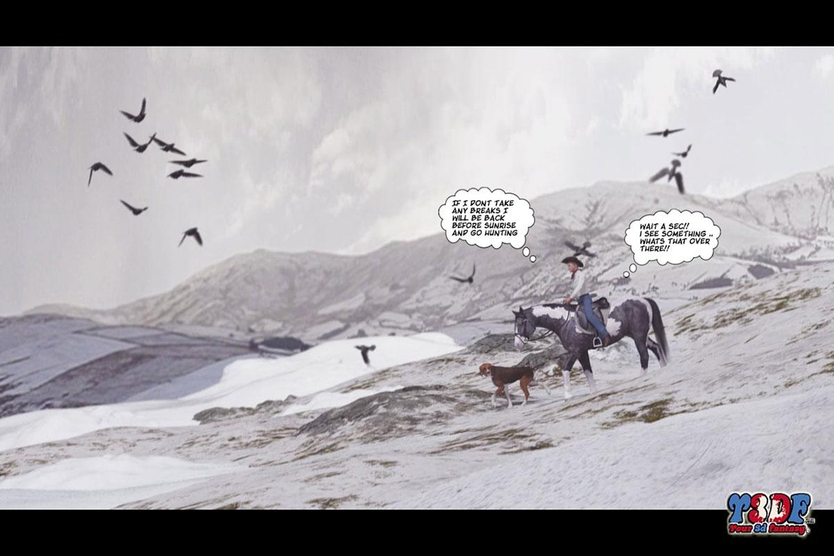 Y3DF comic The big big west - page 31