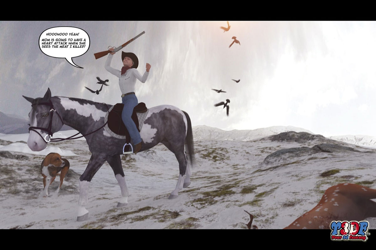 Y3DF comic The big big west - page 34