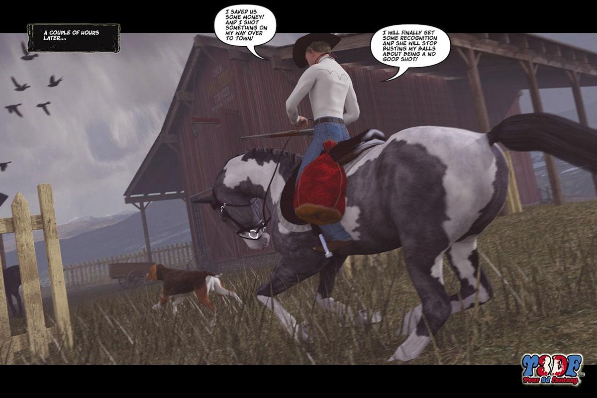 Y3DF comic The big big west - page 35