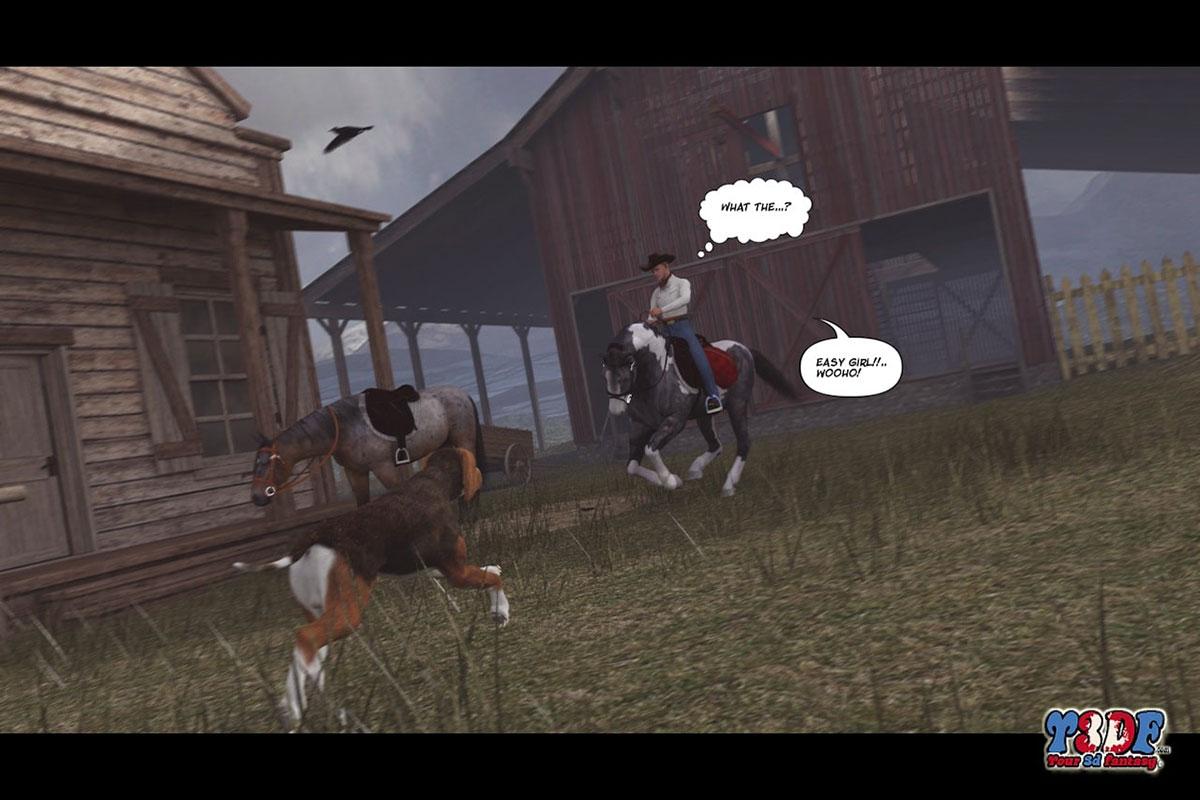 Y3DF comic The big big west - page 36