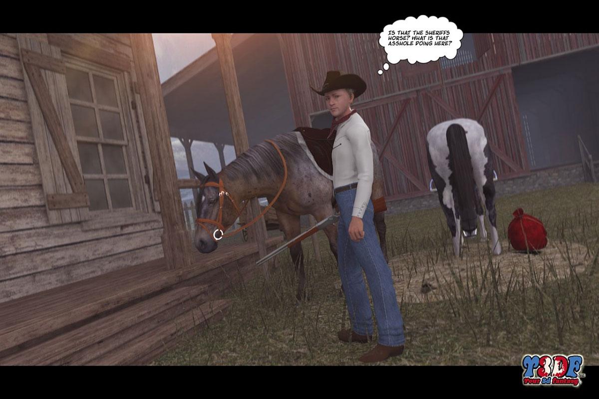 Y3DF comic The big big west - page 37