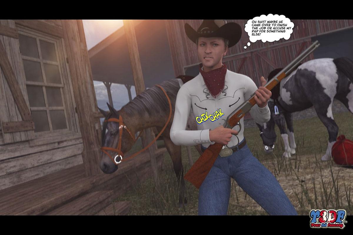 Y3DF comic The big big west - page 38