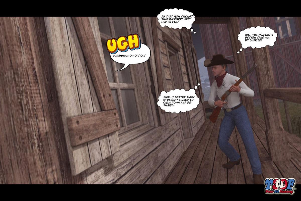 Y3DF comic The big big west - page 39