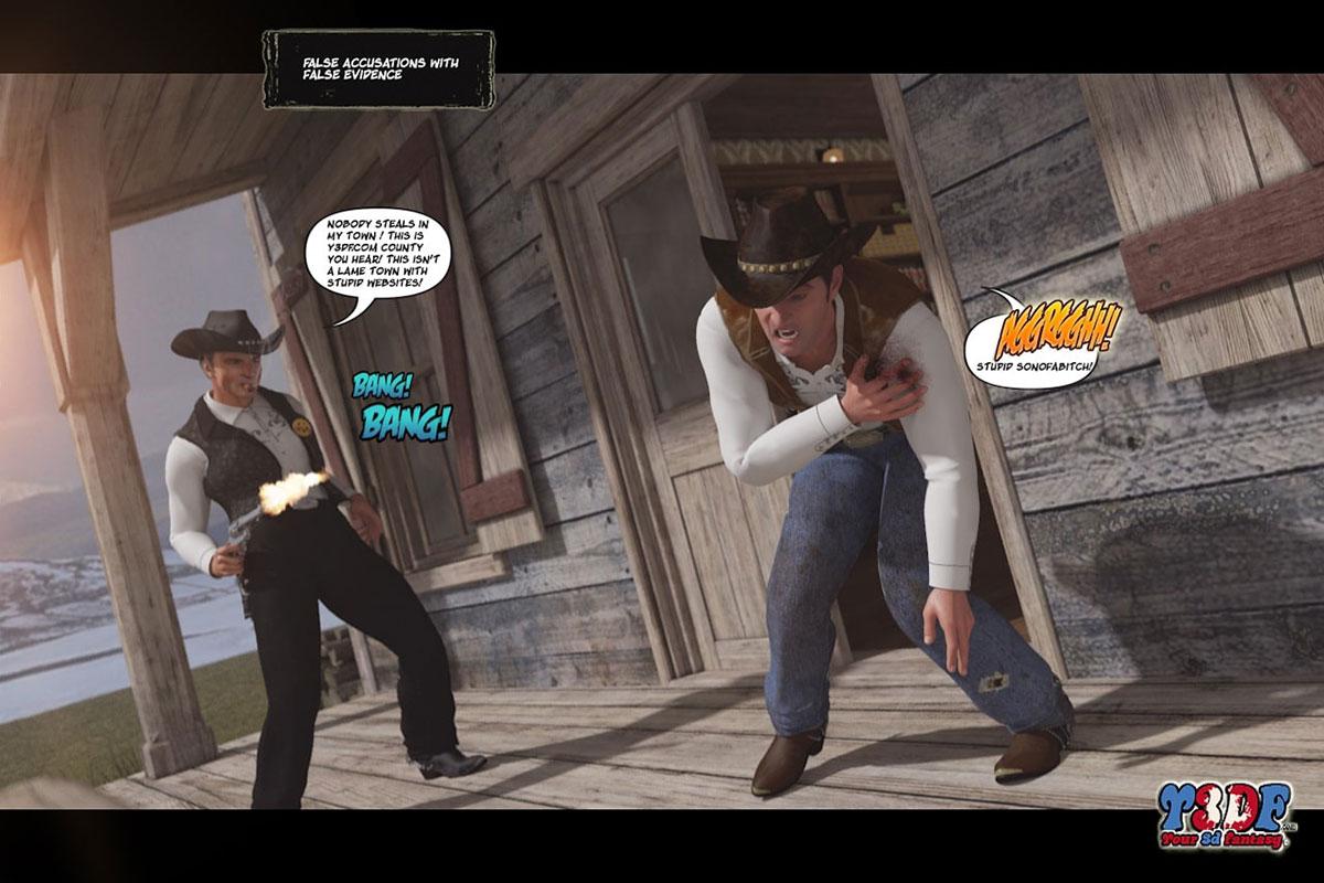 Y3DF comic The big big west - page 4