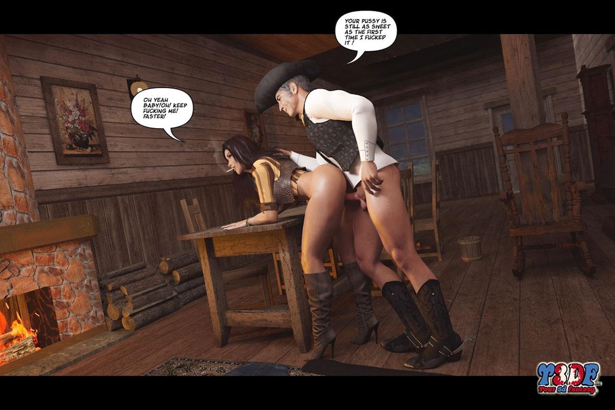 Y3DF comic The big big west - page 41
