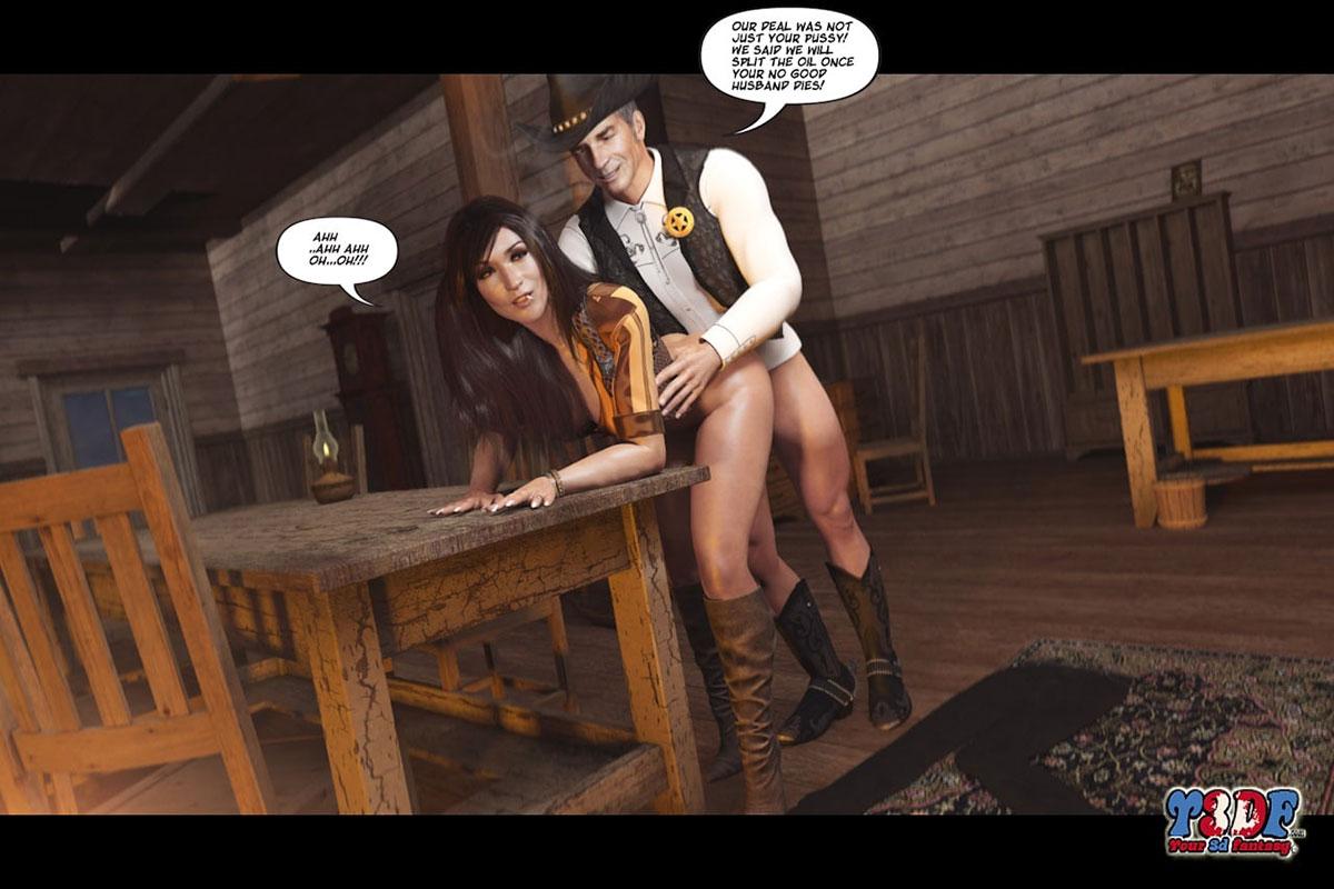Y3DF comic The big big west - page 43