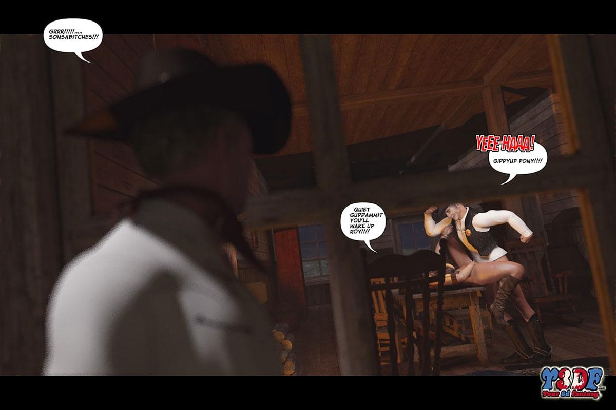 Y3DF comic The big big west - page 47