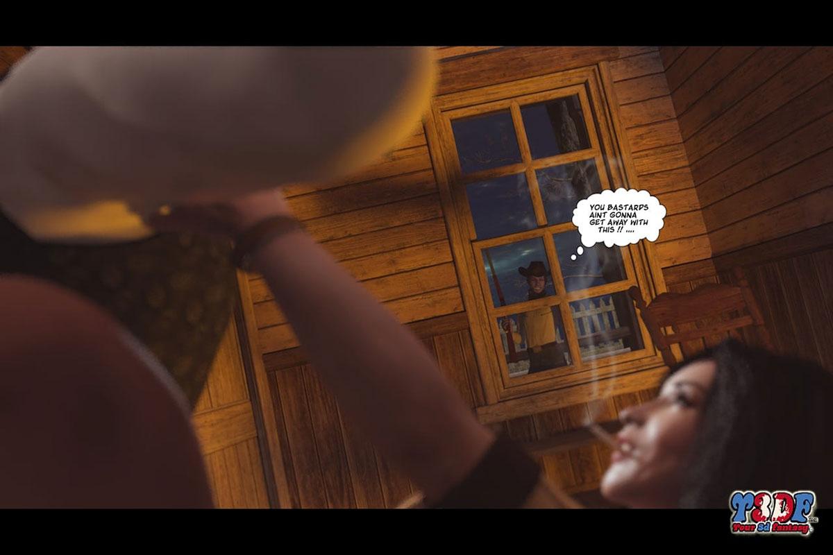 Y3DF comic The big big west - page 48
