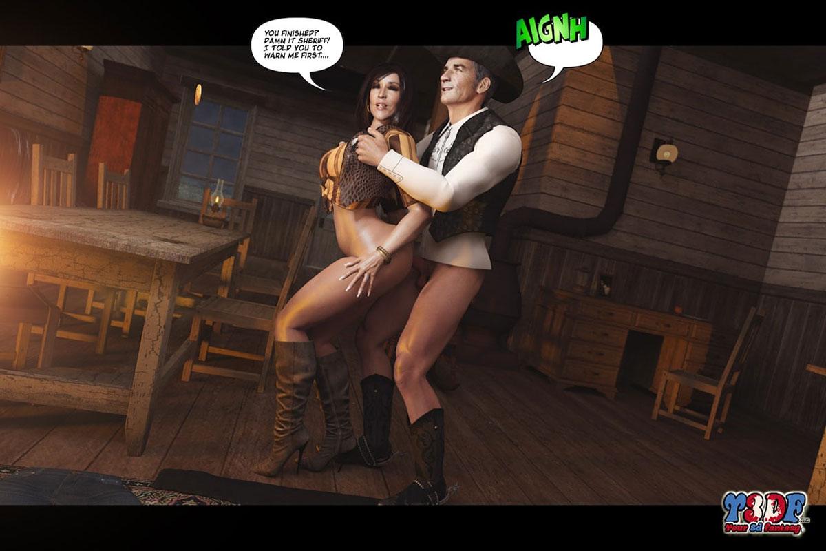 Y3DF comic The big big west - page 49