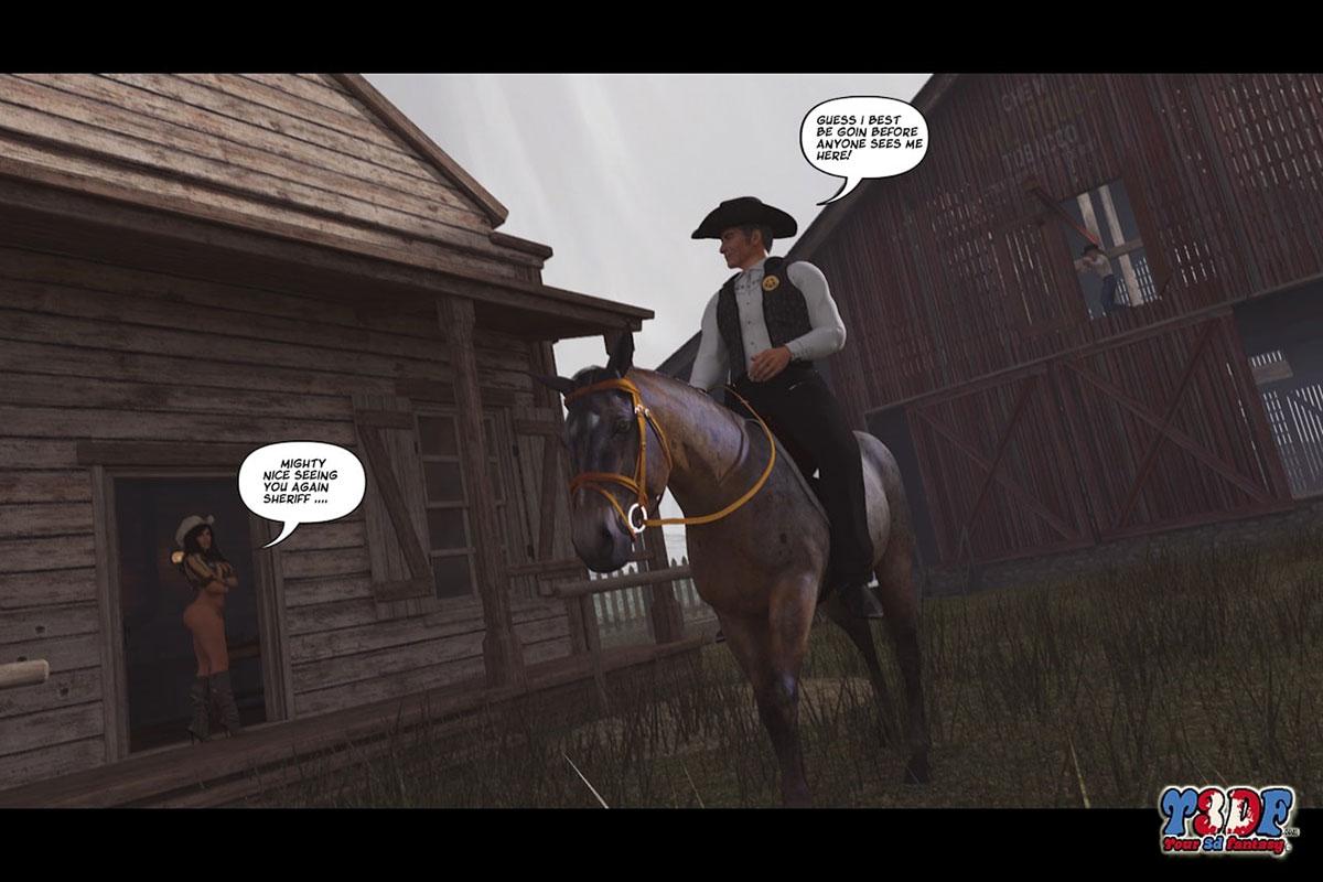 Y3DF comic The big big west - page 51