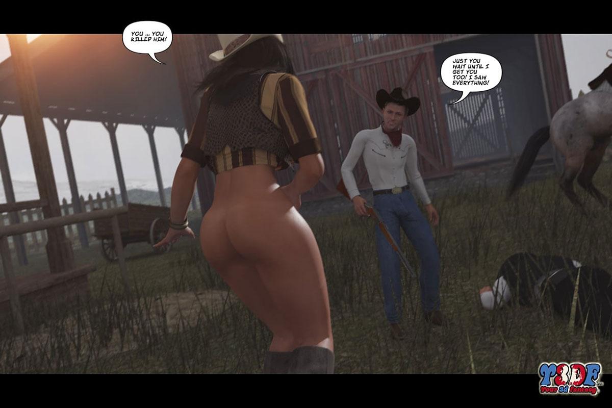 Y3DF comic The big big west - page 57