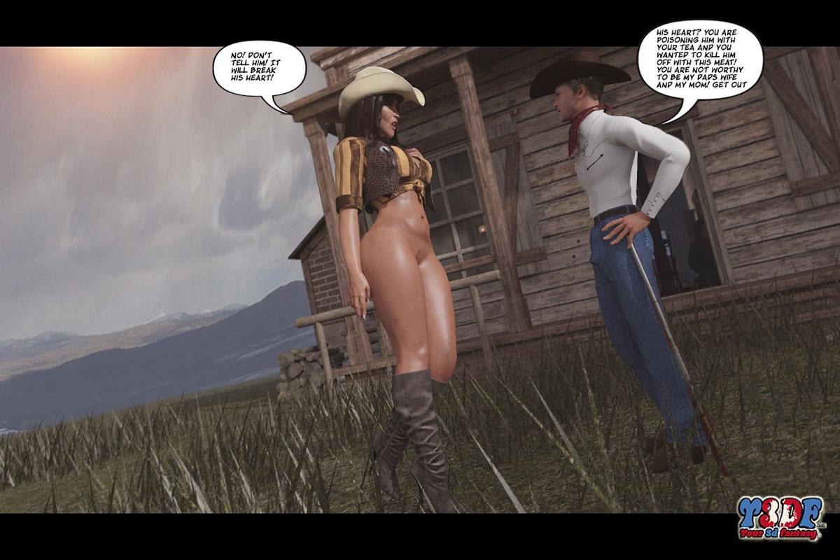 Y3DF comic The big big west - page 59