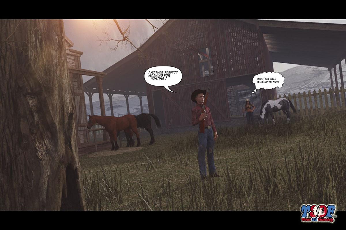 Y3DF comic The big big west - page 6