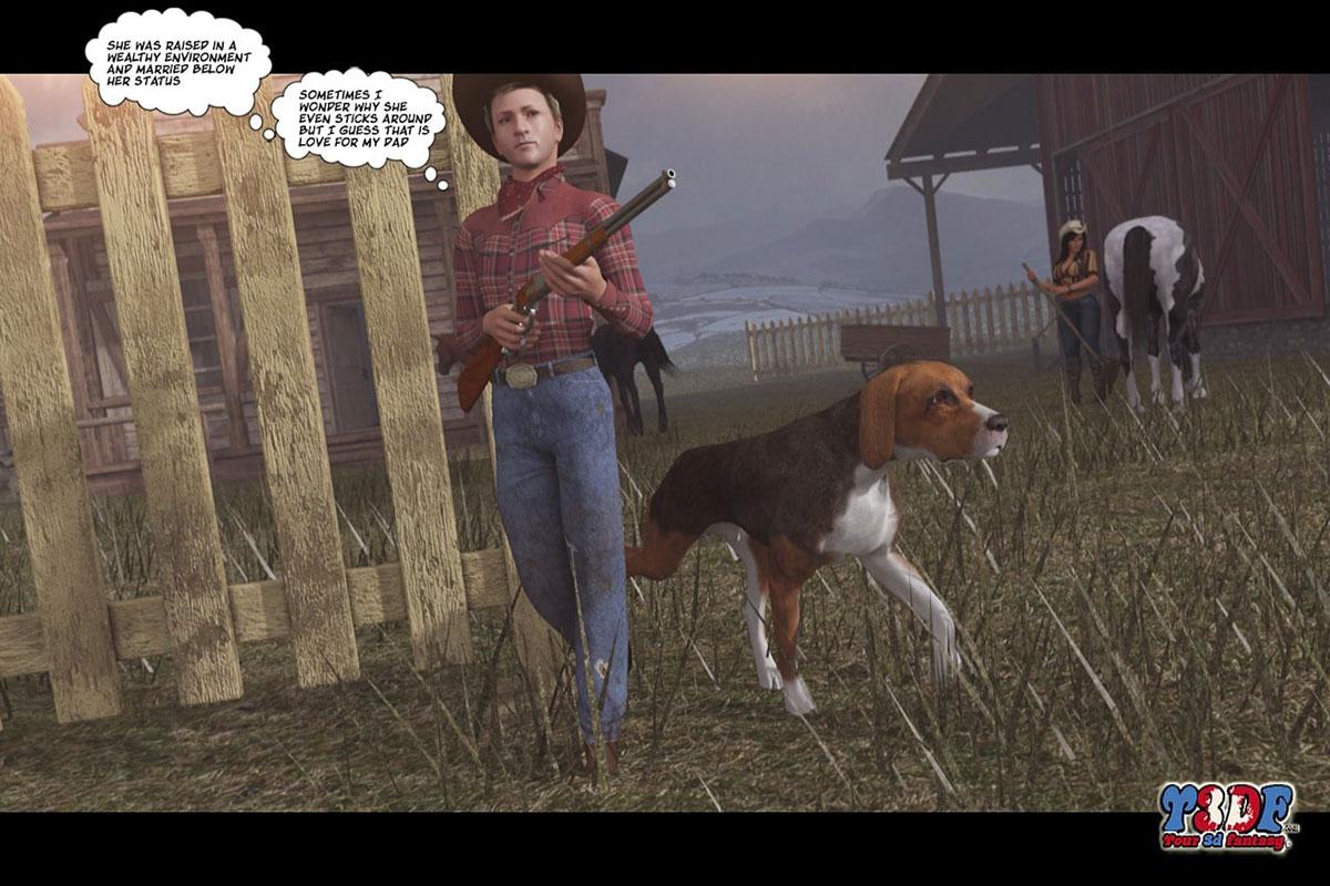 Y3DF comic The big big west - page 8