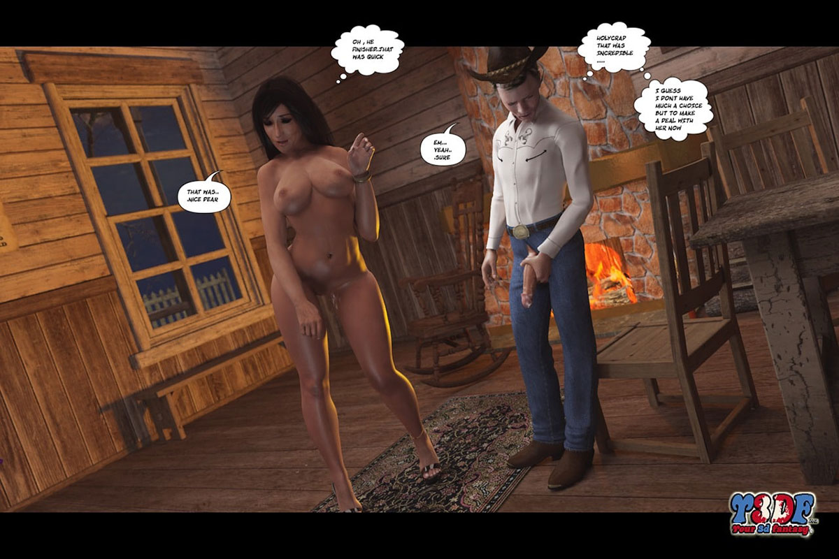 Y3DF comic The Big Big West 2 - page 41