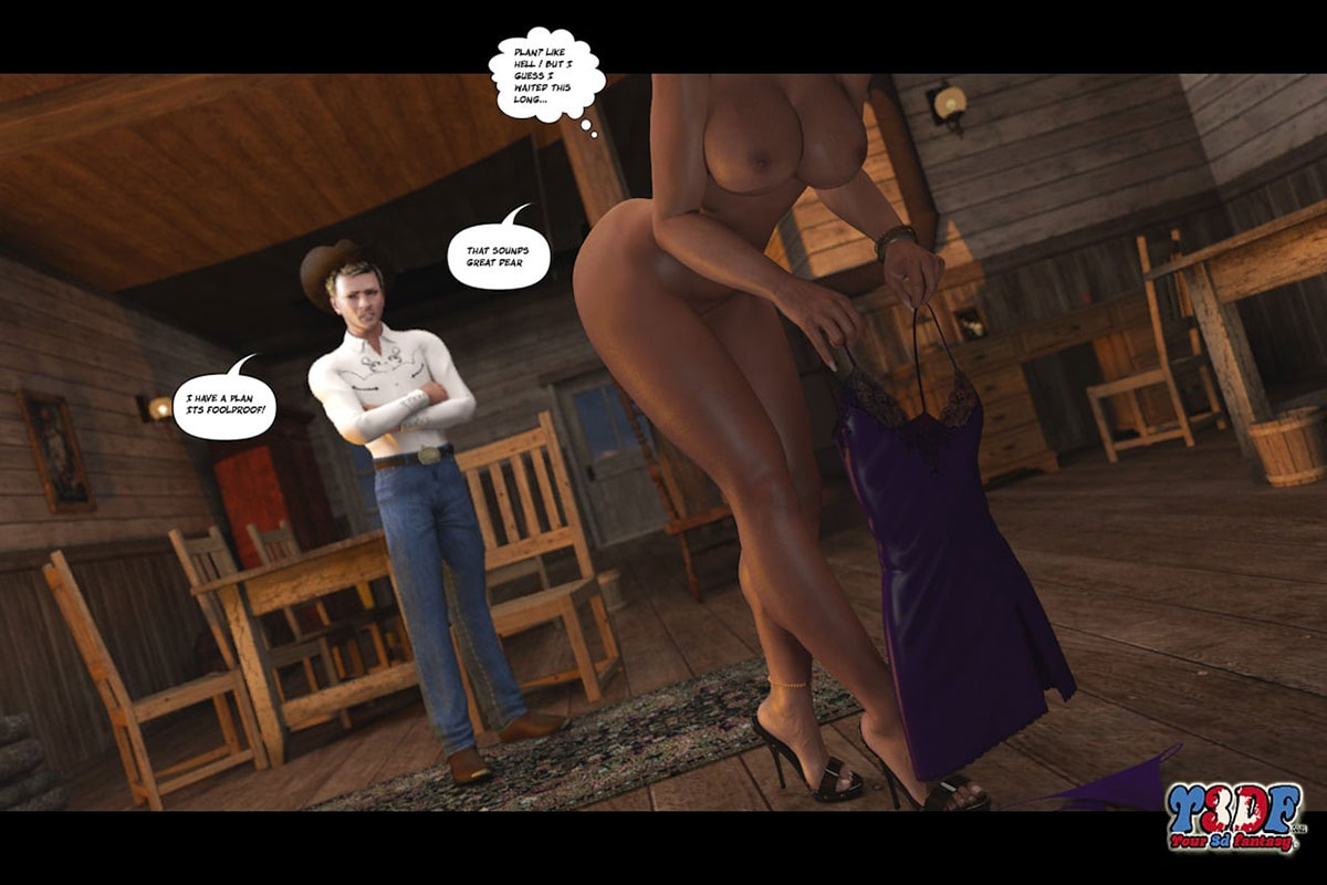 Y3DF comic The Big Big West 2 - page 44