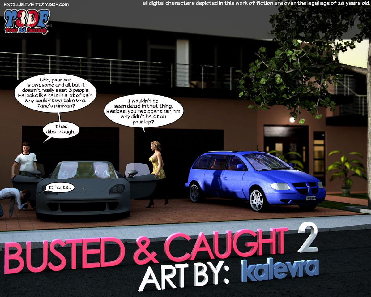 Y3DF comic Busted and Caught 2 - page 1