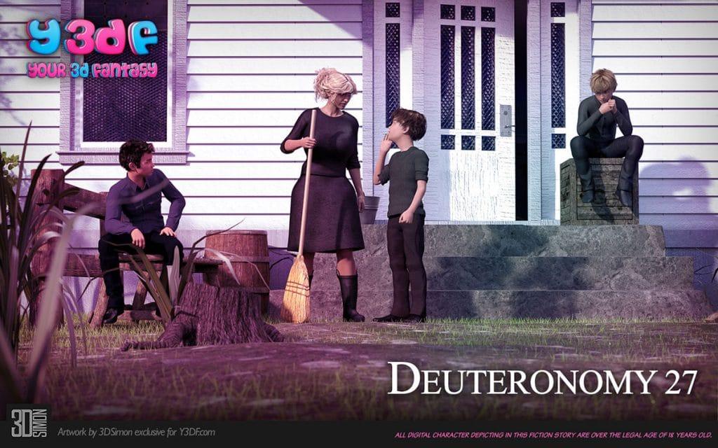 Y3DF comic Deuteronomy 4