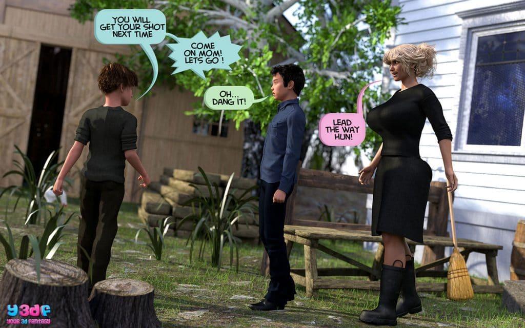 Y3DF comic Deuteronomy 4 - page 4