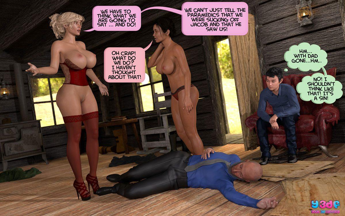 Y3DF comic Deuteronomy 4 - page 55