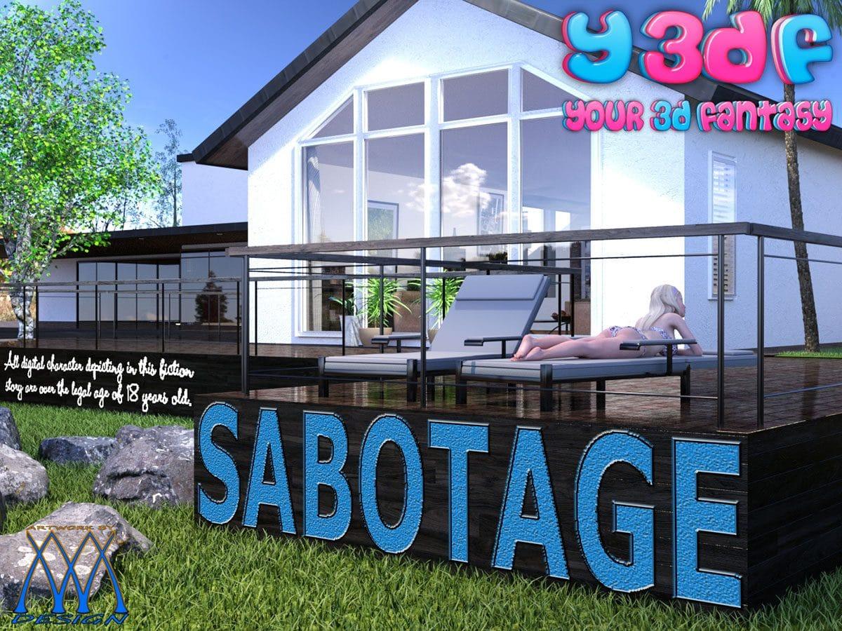 Y3DF comic Sabotage