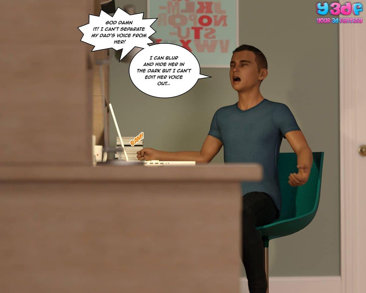 Y3DF comic The Tan 4 - page 2