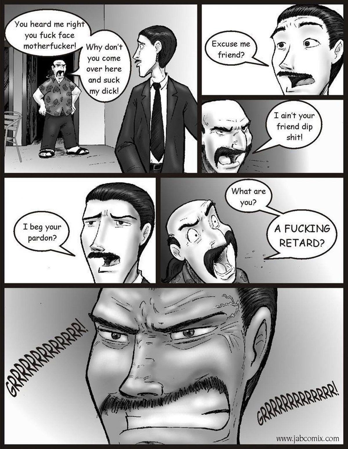 """Jab comic """"Ay Papi 10"""" - page 1"""
