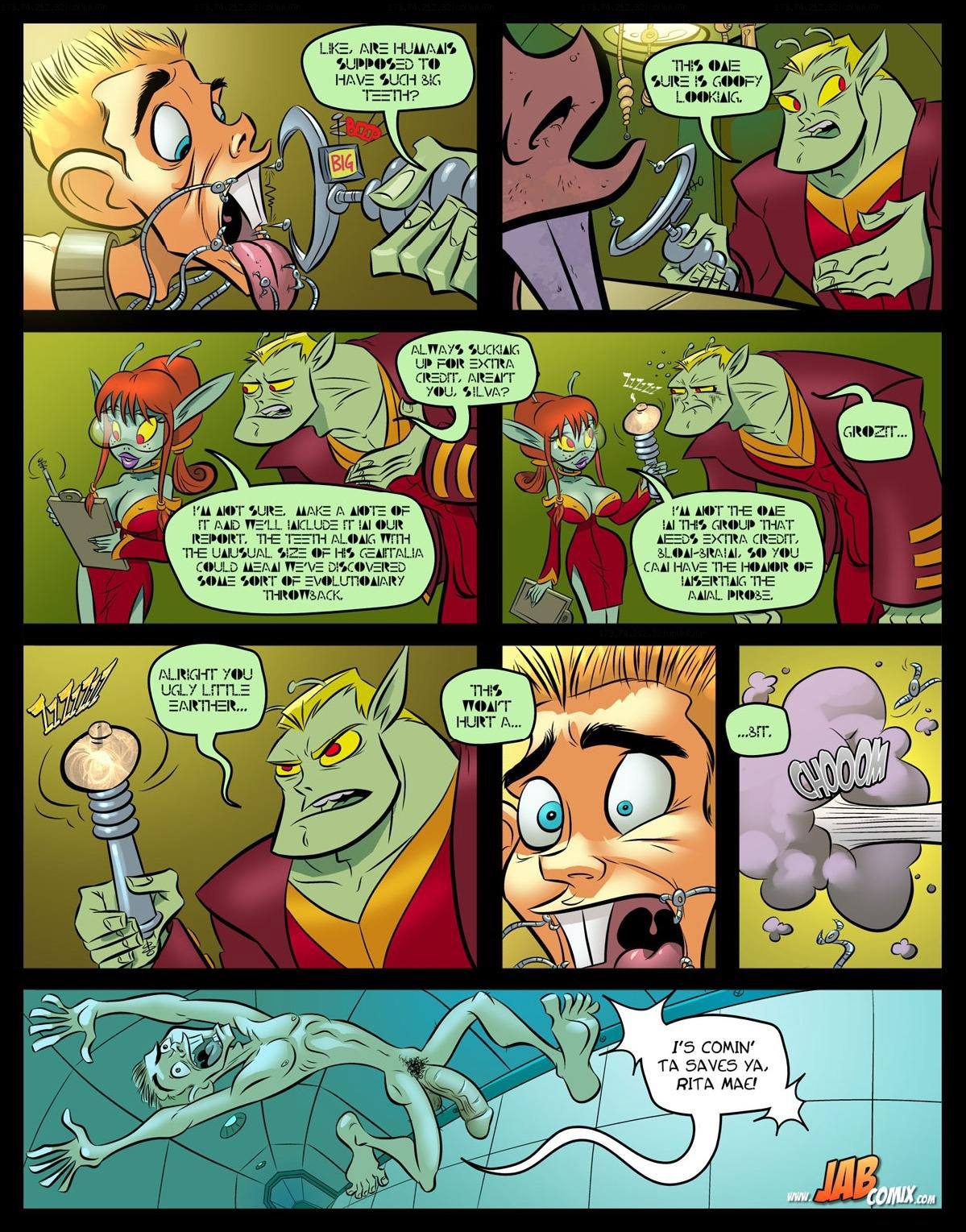 "Jab comic ""Farm Lessons 15"" - page 4"