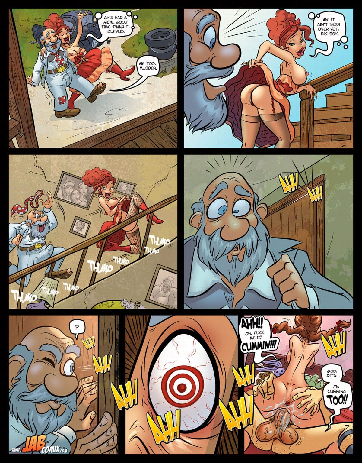 "Jab comic ""Farm Lessons 16"" - page 19"