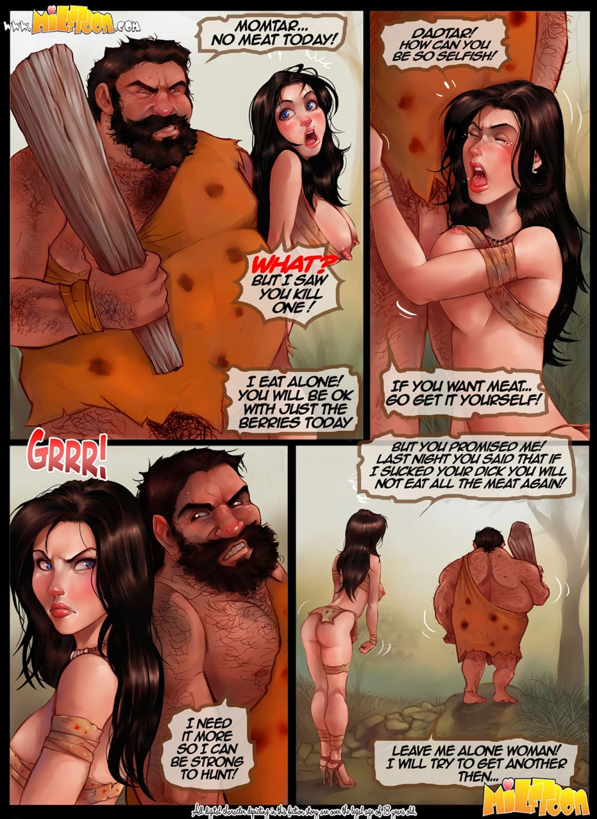 """Milftoon comic """"MilfAge"""" - page 2"""