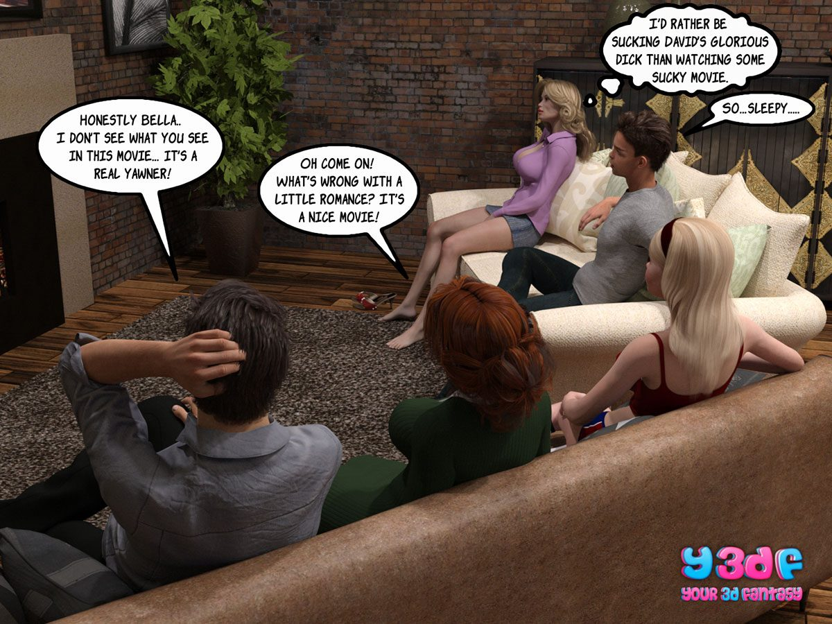 """Y3DF comic """"Sabotage 3"""" - page 50"""