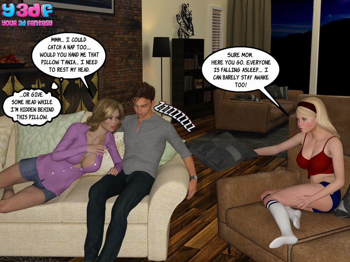 """Y3DF comic """"Sabotage 3"""" - page 51"""
