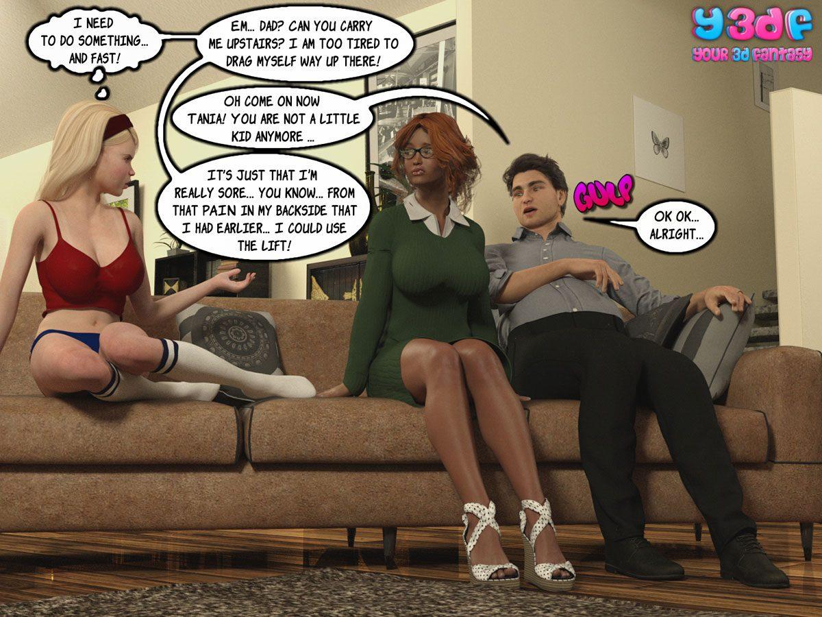 """Y3DF comic """"Sabotage 3"""" - page 55"""