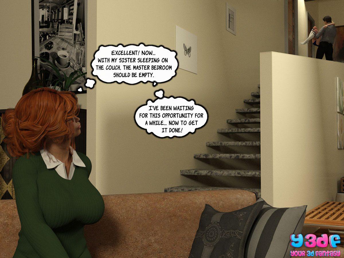 """Y3DF comic """"Sabotage 3"""" - page 58"""