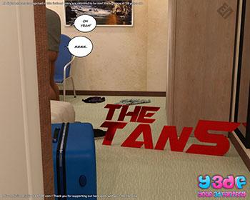 """Porn comic """"The Tan 5"""""""
